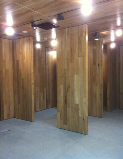 2 - Ballyroan Library MW 360degree Revolving Wood Panel